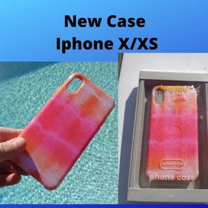 Iphone X XS Case Pink Case